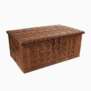 19th Century Indian Rajasthan Chest or Coffee Table