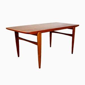 Swedish Beech Coffee Table, 1960s
