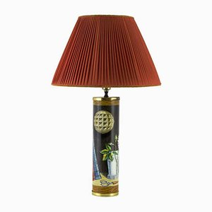Mid-Century Table Lamp from Piero Fornasetti
