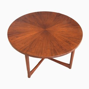 Rosewood Sunburst Coffee Table by A H Mcintosh, 1960s