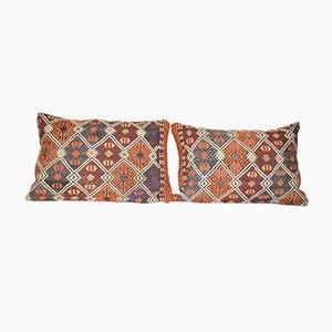 Cubiertas para el sofá Kilim turcas turcas. Juego de 2