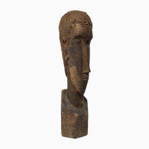 Grande Sculpture Antique d'Amedeo Modigliani