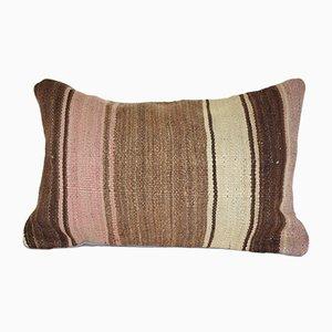Turkish Striped Kilim Cushion Cover