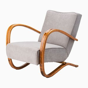 Model H-269 Armchairs by Jindřich Halabala for UP Závody, 1930s, Set of 2