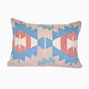 Turkish Lumbar Kilim Cushion Cover