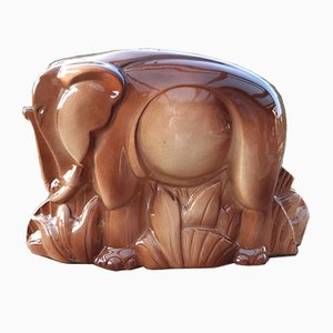Art Deco French Stylized Elephant, 1930s