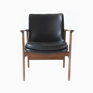 Danish Armchair by Ib Kofod-Larsen for Froscher KG, 1960s
