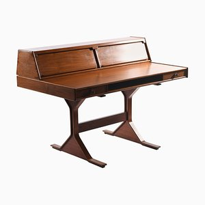 Mid-Century Italian Model 530 Writing Desk by Gianfranco Frattini for Bernini, 1963