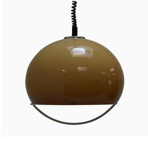 Grande Lampe à Suspension Mid-Century par Harvey Guzzini pour Meblo, 1970s