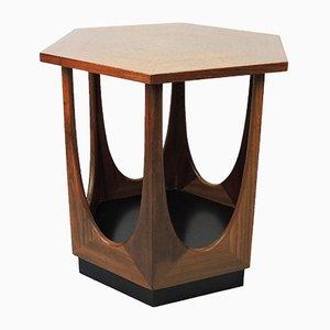 Mid-Century Hexagonal Teak Side Table from G-Plan, 1960s