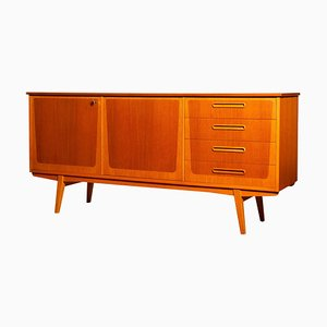Teak and Oak Sideboard, Sweden, 1960s
