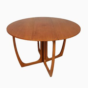 Mid-Century Drop Leaf Extendable Dining Table from Beithcraft