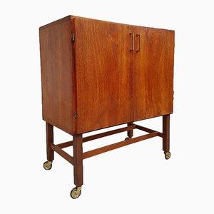 Mid-Century Media Record Vinyl Storage Cabinet