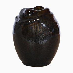 Budding Style Stoneware Model 21451 Vase by Axel Salto for Royal Copenhagen, 1957