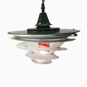Lámpara de techo Tivoli vintage de Poul Henningsen para Louis Poulsen, años 40