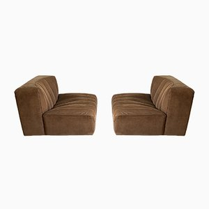 Series 9000 Sofas by Tito Agnoli for Arflex, 1960s, Set of 2
