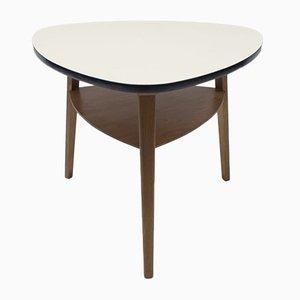 Tavolino da caffè Mid-Century con scomparto, Germania, anni '50