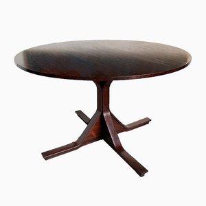 Table de Salle à Manger Modèle 522 en Palissandre par Gianfranco Frattini pour Bernini, 1950s