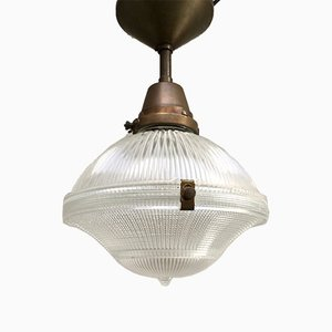Ceiling Lamp from Holophane, 1940s