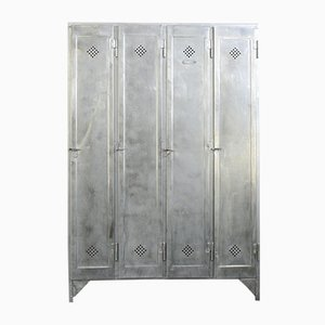 Industrial Five-Door Locker by Otto Kind, 1920s