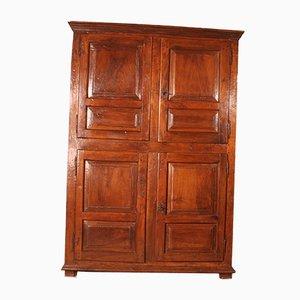 Spanisches Buffet mit 4 Türen aus Nussholz, 17. Jh