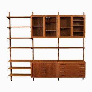 Wall Unit by Kai Kristiansen for FM Møbler, 1960s