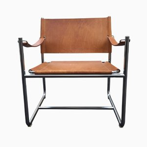Leather Safari Chair by Karin Mobring for Ikea