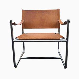 Leder Safari Stuhl von Karin Mobring für Ikea