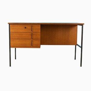 Teak Veneer Desk, 1960s