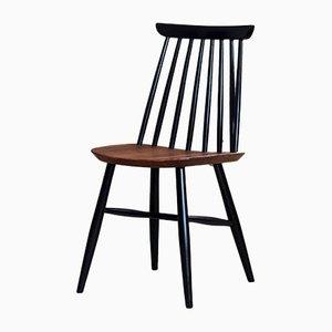 Chaises de Salon Spindle Back par Marian Grabiński pour Fameg, 1960s, Set de 4