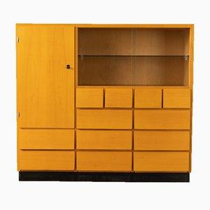 Ash Veneer Cabinet from Dusyma Werkstätten, 1950s