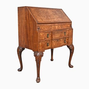 Antique English Queen Anne Style Walnut Secretaire