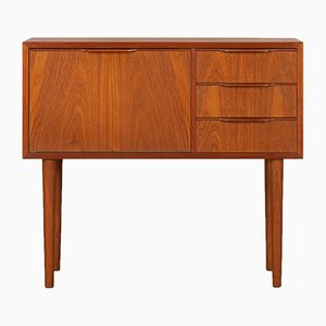Small Mid-Century Danish Teak Chest of Drawers, 1960s