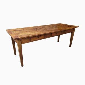 Antique Mahogany Farm Table