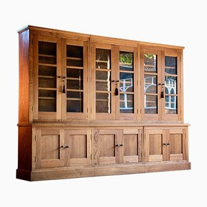 Large Vintage Apothecary Bookcase Display Cabinet