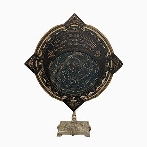 Mapa celeste giratorio antiguo de Klippel