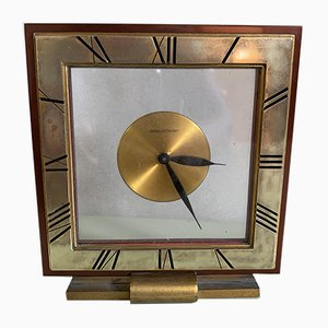 Mid-Century Swiss Desk Clock from Jaeger-Le Coultre, 1960s