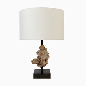 Belgian Desert Rose Table Lamp by Ado Chale, 1970s
