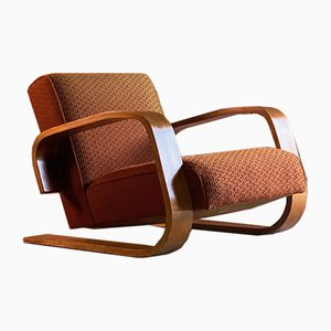 Finnish Model 400 Tank Chair by Alvar Aalto for Finmar, 1930s