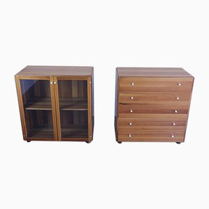 Mid-Century Model Torcello Chest of Drawers by Tobia & Afra Scarpa for Stildomus, Set of 2