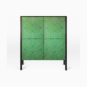 Emerald Loop Four Door Cabinet by Coucoumanou