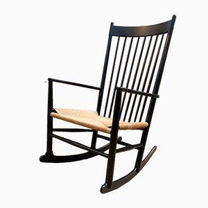 Rocking Chair Modèle J16 par Hans J. Wegner pour FDB, 1970s