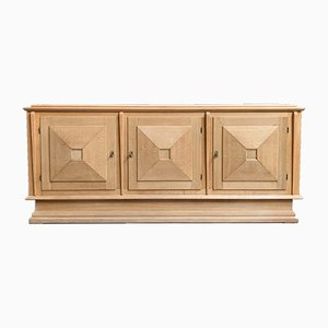 French Oak Sideboard, 1940s