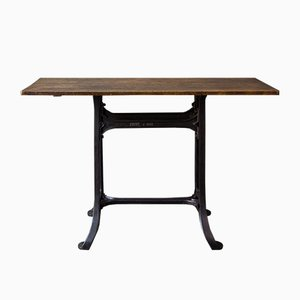 Vintage Industrial Console Table from Monfort a Paris
