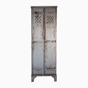 Armadietto vintage industriale di Strafor, anni '30