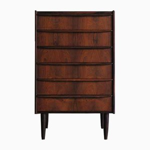 Scandinavian Rosewood Chest of Drawers, 1950s