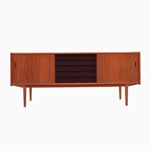 Teak Model Trio Sideboard by Nils Jonsson for Hugo Troeds, 1960s