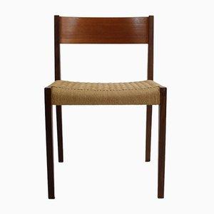 Chaise d'Appoint Modèle Pia en Teck par Poul Cadovius pour Cado, 1960s