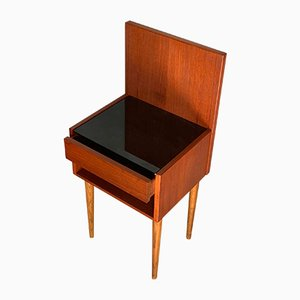 Mid-Century Nightstand by Hans J. Wegner for Getama