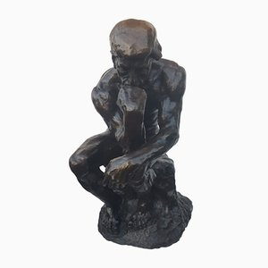 Sculpture Penseur Antique en Bronze